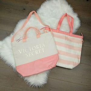 Victoria Secret Canvas 2 in 1 Bag